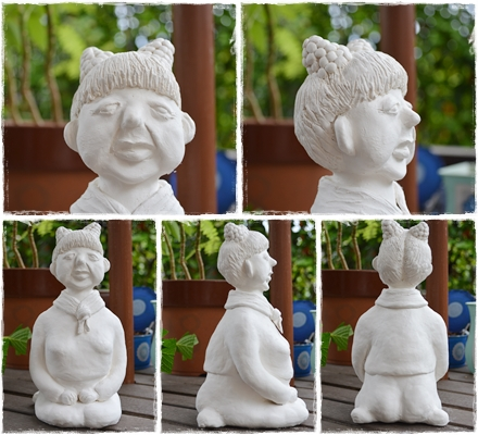 粘土人形(お婆ちゃん)
