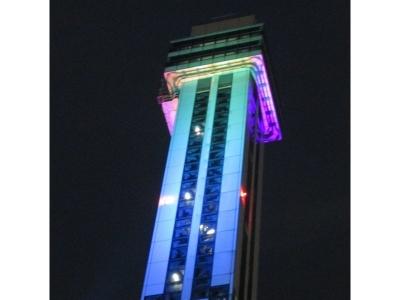 タワーホール船堀ライトアップ