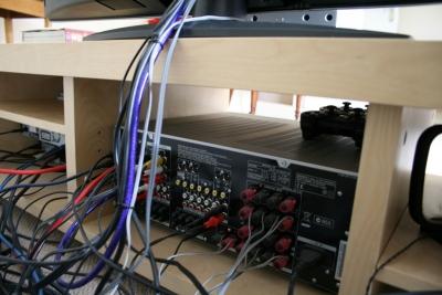 AV機器の裏側