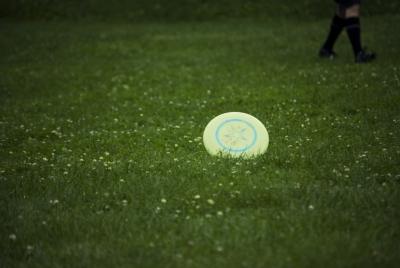 落ちた円盤