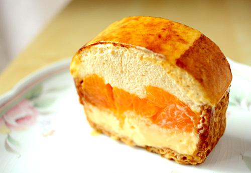 【ケーキ】ユウジアジキ「デコポンのシブースト」 (1)