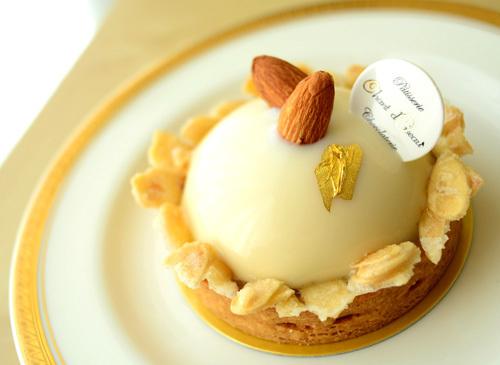 【ケーキ】シャンドワゾー「タルトアマンドパッション」 (2)