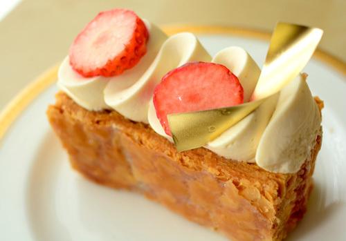 【ケーキ】リョウラ「ミルフィーユミストラル」