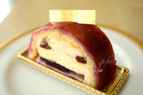 【ケーキ】ユウササゲ「モンテリマール・レザン」