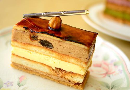 【ケーキ】ヴォワザン「ブールサレ」 (1)