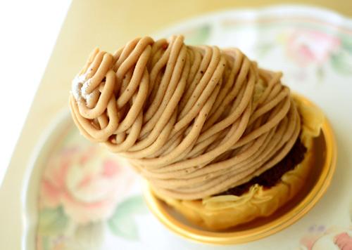 【ケーキ】ヴォワザン「モンブラン」 (1)