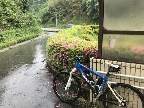 【雨中の中のジテツウはつらい?】・2