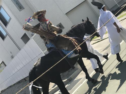 【市長選挙と流鏑馬】・11