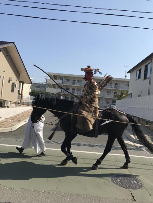 【市長選挙と流鏑馬】・13