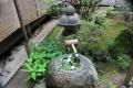 藤戸寺手水鉢の沙羅