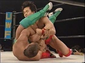 腕十字の仕掛けは田村が冷静に対処して、