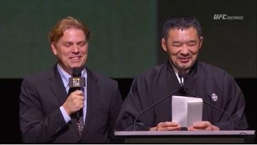 桜庭UFC殿堂入りスピーチ2