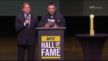 桜庭UFC殿堂入りスピーチ8