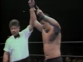 苦戦の末、高田が一本勝ち