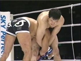 桜庭和志vsビクトー・ベウフォート45