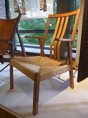 本を読む椅子01