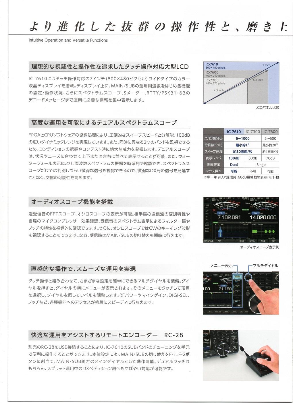 IC7610カタログ6