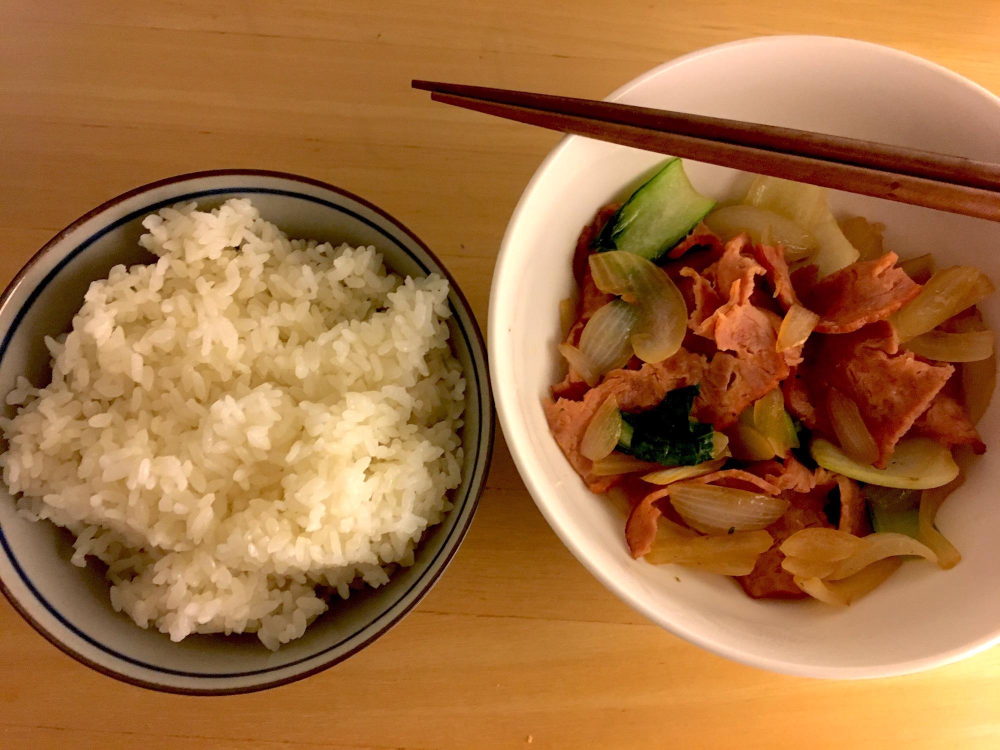 初めての料理@SF
