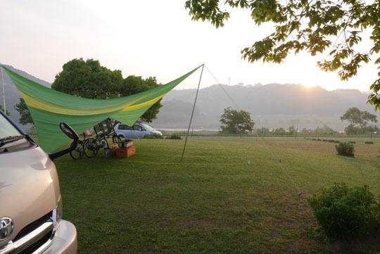 116キャンプ場の朝