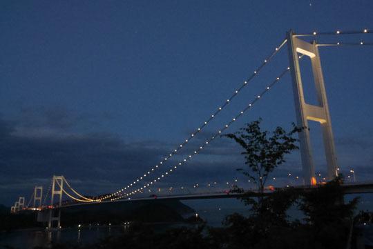 227橋のライトアップ