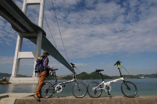 300来島海峡大橋を渡って