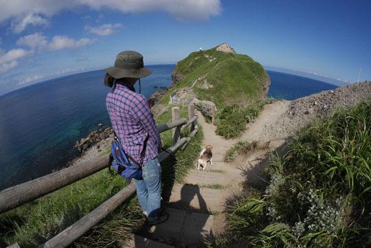 400神威岬散策