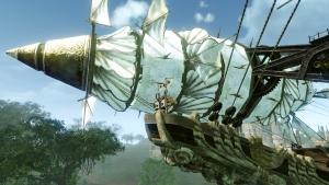 飛空艇上昇