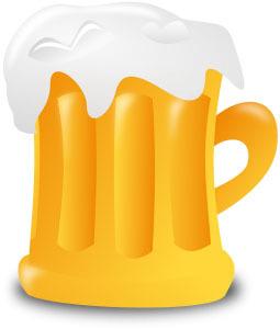 生ビールイラスト