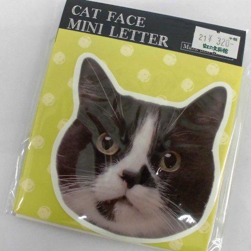 猫顔ミニレター (3)