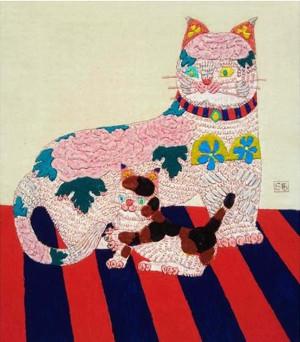杉本澄男 親子猫