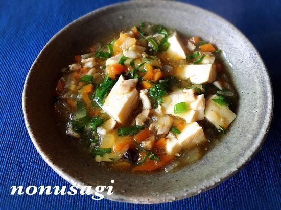 懐かしの和風マーボー豆腐