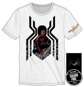 ⑧ スパイダーマン ホワイトTシャツ