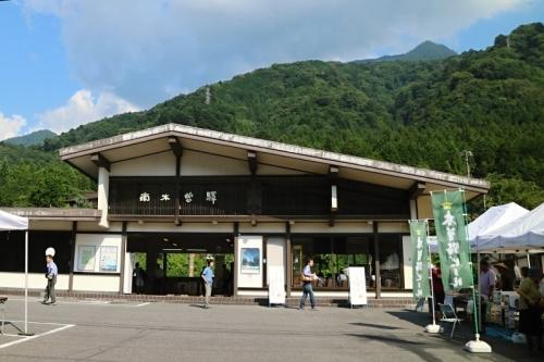 IMG_1173 南木曽駅前