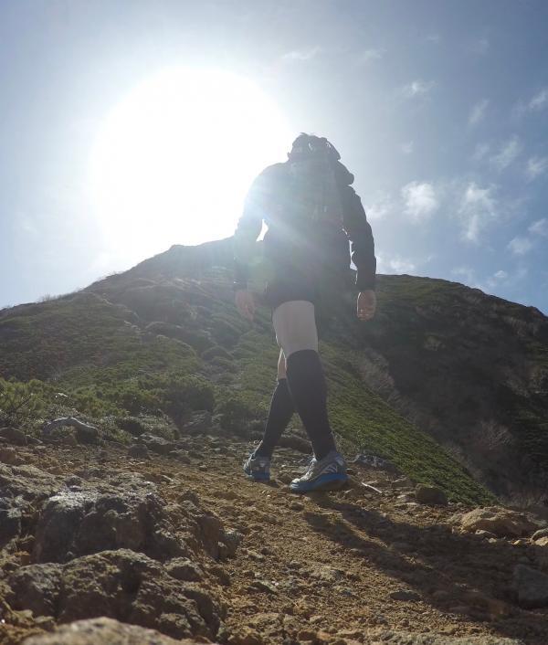 南八ヶ岳0604_阿弥陀への登り