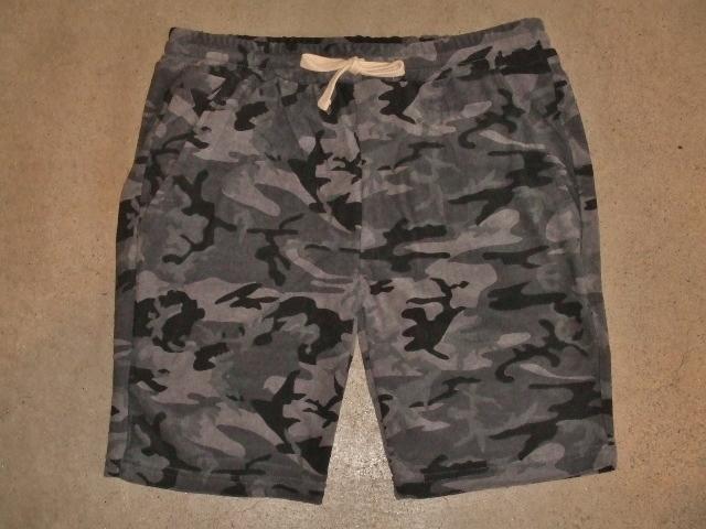 NORULE Camouflage shorts1
