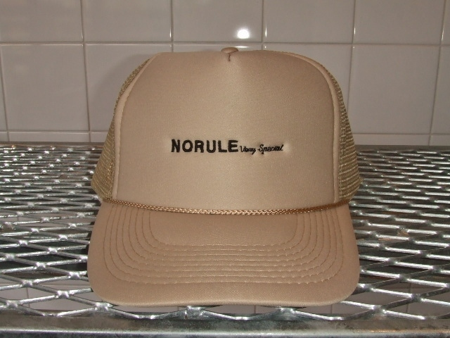 NORULE mesh cap beige1