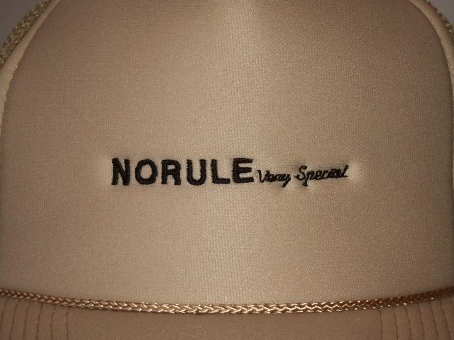 NORULE mesh cap beige2
