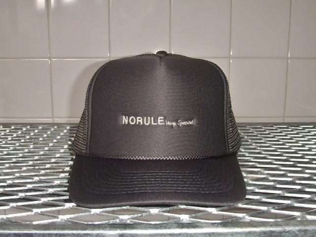 NORULE mesh cap cgray1