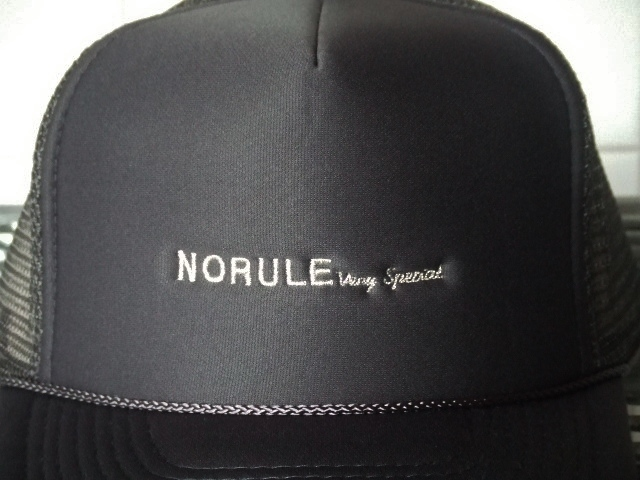 NORULE mesh cap cgray2