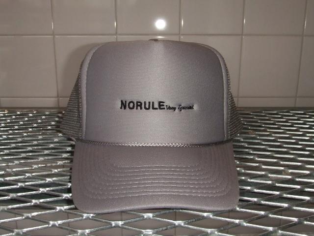 NORULE mesh cap gray1