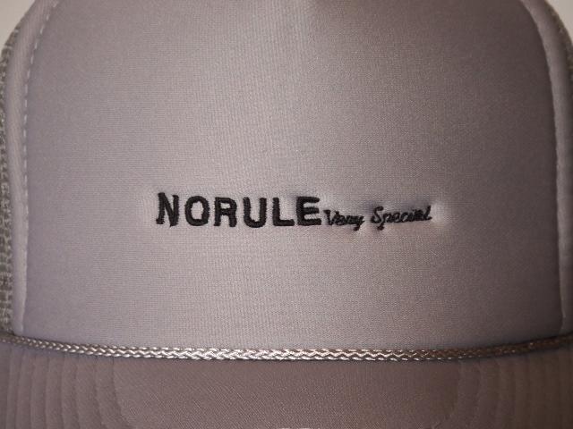 NORULE mesh cap gray2