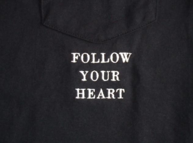 NORULE POKET TEE FOLLOW YOUR HEART3