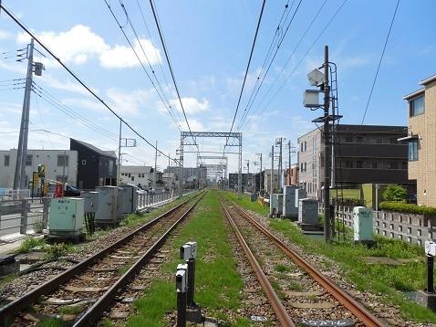小田急江ノ島線の高座渋谷1号踏切@大和市f