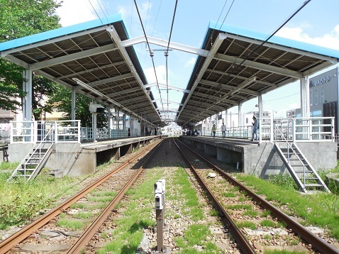 小田急江ノ島線の高座渋谷1号踏切@大和市e