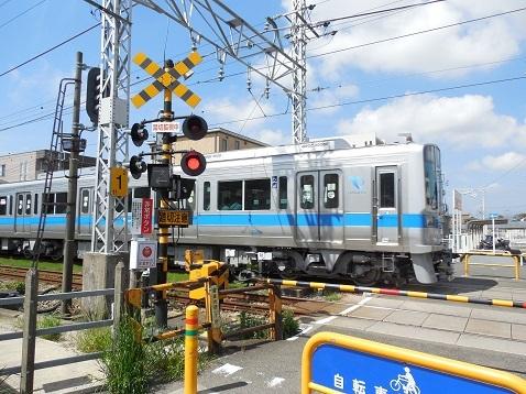 小田急江ノ島線の高座渋谷1号踏切@大和市g