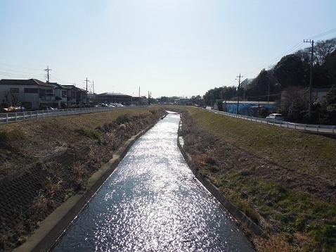 鶴見川の水車橋@横浜市青葉区f