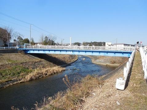 鶴見川の水車橋@横浜市青葉区a