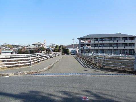 鶴見川の水車橋@横浜市青葉区g