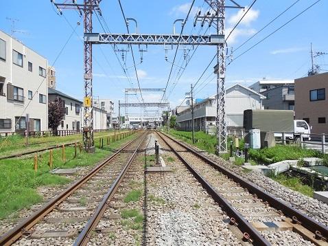 小田急江ノ島線の桜ヶ丘1号踏切@大和市c