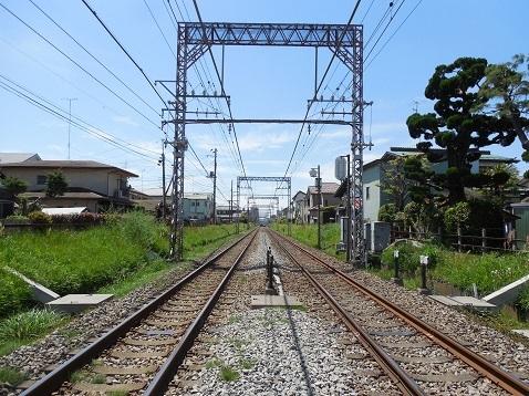 小田急江ノ島線の桜ヶ丘1号踏切@大和市d